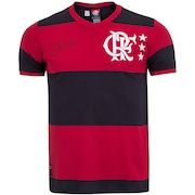 Camiseta do Flamengo Zico Braziline - Masculina