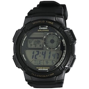 Relógio Digital Casio World Time AE1000W - Unissex