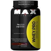 Whey Pro 1Kg - Chocolate - Max Titanium