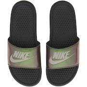 Chinelo Nike Benassi JDI Print - Slide - Feminino