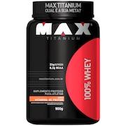 100% Whey 900G - Vitamina De Frutas - Max Titanium
