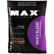 Whey Blend 2Kg - Chocolate - Max Titanium
