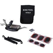 Kit de Ferramentas para Bicicleta Acte Sports A4 com 5 Tipos de Chaves, Remendo de Câmera e Bolsa