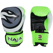 Luvas de Boxe Naja Colors Flúor - 14 OZ - Adulto