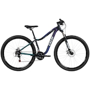 Mountain Bike Caloi Lotus - Aro 29 - Freio a Disco - 21 Marchas - Feminina