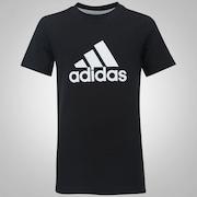 Camiseta adidas YB Logo - Infantil
