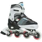 Patins Mor Semi Pro - In Line - Fitness - Ajustável - Adulto