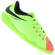 Chuteira Futsal Nike Hypervenom X Phelon III IC - Infantil