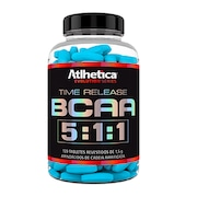 BCAA Atlhetica Time Release 5:1:1 - 120 Tabletes