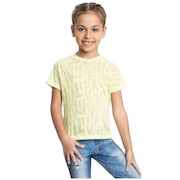 Camiseta Live See Feminina - Infantil