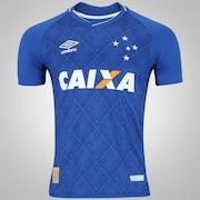 Camisa do Cruzeiro I 2017 Umbro - Masculina cc3a09b34ec5d