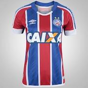 Camisa do Bahia II 2017 nº 10 Umbro - Feminina