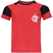 Camiseta do Flamengo Raglan - Infantil