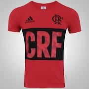 Camiseta do Flamengo adidas Gráfica - Masculina