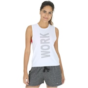 Camiseta Regata Oxer Work For It - Feminina