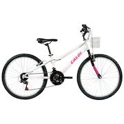 Bicicleta Caloi Ceci - Aro 24 - Freio V-Brake - 21 Marchas - Feminina - Infantil
