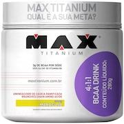 4:1:1 Bcaa Drink 280G - Maracujá - Max Titanium