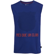 Camiseta Regata Barcelona Um Club - Infantil