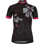 Camisa de Ciclismo com Proteção Solar UV Refactor Bike Love - Feminina