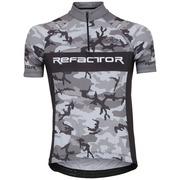 Camisa de Ciclismo com Proteção Solar UV Refactor Army - Masculina