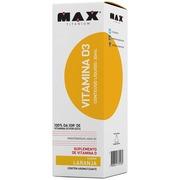Vitamina D3 30Ml - Laranja - Max Titanium