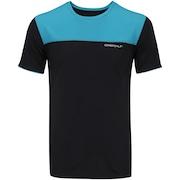 Camiseta Oxer Recorte Frontal - Masculina