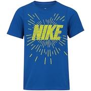 Camiseta Nike B NSW Space Block - Infantil