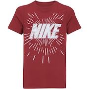 Camiseta Nike B NSW Space Block - Infantil
