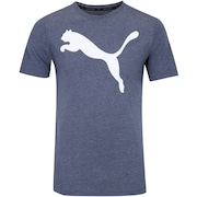 Camiseta Puma Ess Big Cat Heather - Masculina