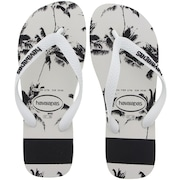 Chinelo Havaianas Top Stripes Logo - Masculino