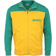 Jaqueta do Brasil 2018 Bicolor - Infantil