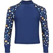 Camiseta Manga Longa com Proteção Solar Oxer Shell Feminina - Infantil