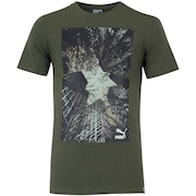 Camiseta Puma Brand Photo Tee - Masculina