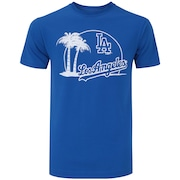 Camiseta New Era Los Angeles Dodgers City - Masculina