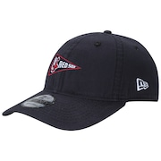 b9181e4a05405 Boné Aba Curva New Era 940 Boston Red Sox Micro Logo - Strapback - Dad Hat  - Adulto