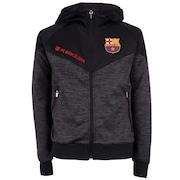 Jaqueta Barcelona com Capuz Jogador - Infantil 70bf05b45f9d4