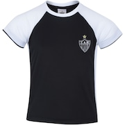 Camiseta do Atlético-MG Less Raglan - Infantil
