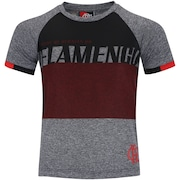 Camiseta do Flamengo Team Raglan - Infantil