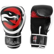 Kit de Boxe Naja: Bandagem + Protetor Bucal + Luvas de Boxe OPP - 14 OZ - Adulto
