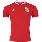 Camisa País de Gales I 2018 adidas - Masculina