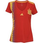 Camisa Espanha I 2018 adidas - Feminina