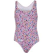 Maiô para Natação com Proteção Solar UV Swim Colors Oncinha Rosa - Infantil