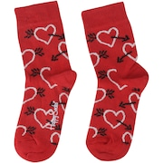 Kit de Meias Happy Socks Heart com 2 Pares - 2 a 3 Anos - Infantil