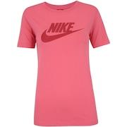 64cc80d5a7338 Camiseta Nike Sportswear Logo - Feminina