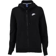 56baae0e2c Jaqueta de Moletom com Capuz Nike Sportswear Hoodie FZ FLC - Feminina