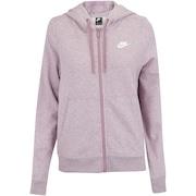 Jaqueta de Moletom com Capuz Nike Sportswear Hoodie FZ FLC - Feminina 8716f7dd4cb