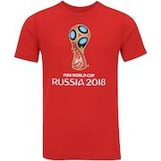 Camiseta adidas Logo da Copa do Mundo FIFA 2018 - Infantil