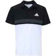 Camisa Polo com Proteção Solar UV adidas Club Colorblock TD - Masculina