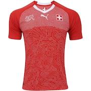 Camisa Suíça I 2018...