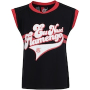 Camiseta do Flamengo Born Feminina - Infantil